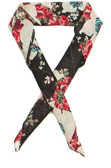 Kimono Floral Bandana Neck Tie