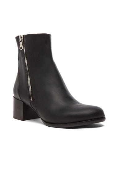 Avery Leather Low Booties