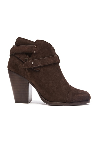 Harrow Suede Booties