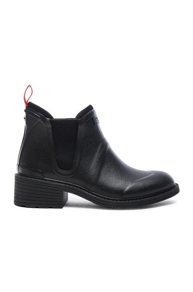 rag & bone Rubber Darford Boots in Black