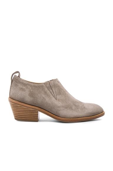 rag & bone Suede Thompson Boots in Warm Grey Suede