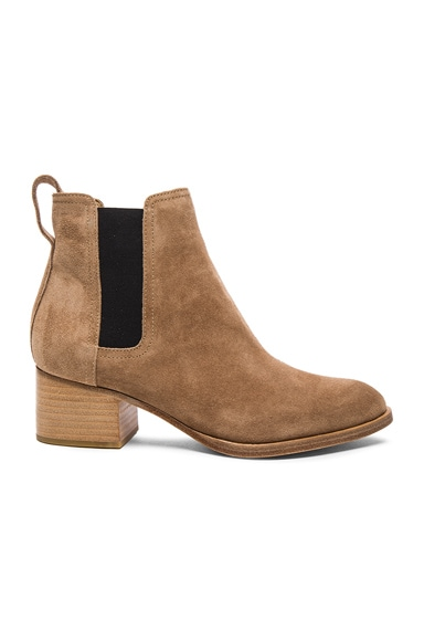 Rag & Bone Suede Walker Boots in Camel