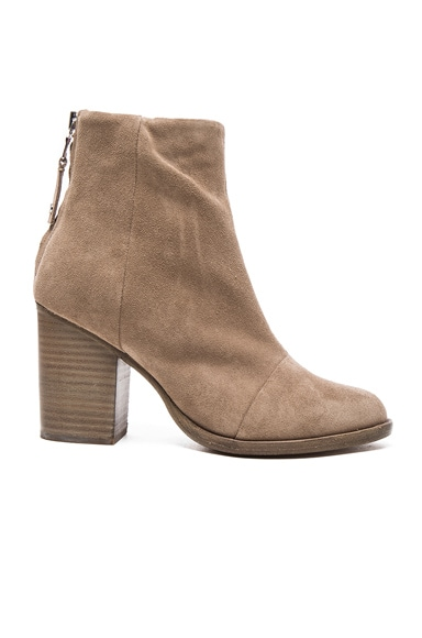 Suede Ashby Booties