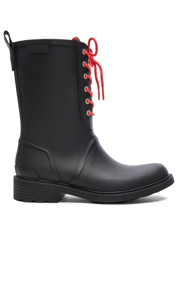 Rag & Bone Rubber Ansel Rain Boots in Black