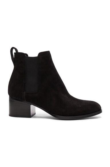 Rag & Bone Suede Walker Boots in Black Suede