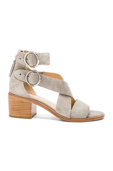 Suede Mari Sandals
