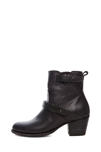 Harper Leather Moto Boots