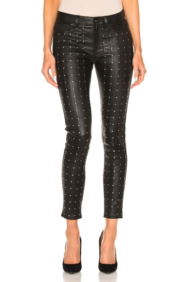 rag & bone/JEAN Hyde in Black Stud
