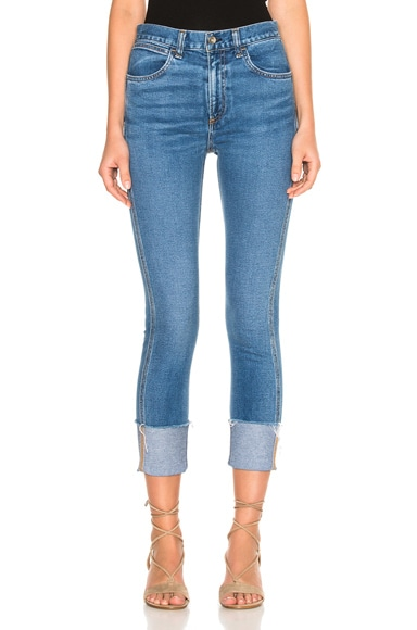 rag & bone/JEAN Lou Skinny in Blue Hill