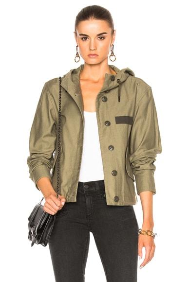 Laurel Cropped Parka Jacket