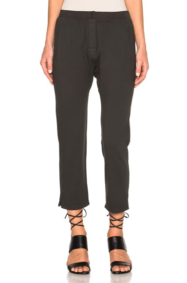 rag & bone/JEAN Utility Pants in Washed Black