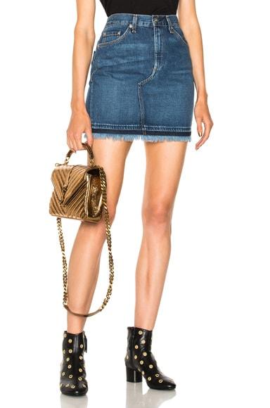 Dive Denim Skirt rag & bone/JEAN