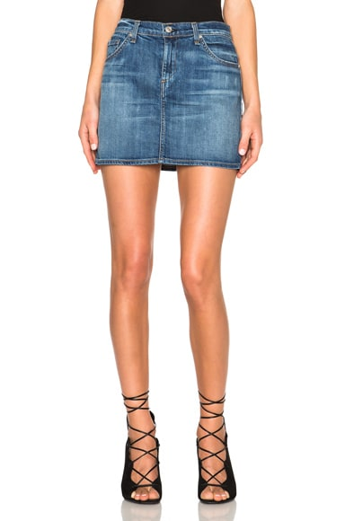 rag & bone/JEAN Mini Skirt in Delancey