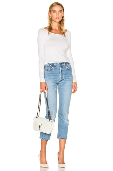 Oasis Off the Shoulder Tee