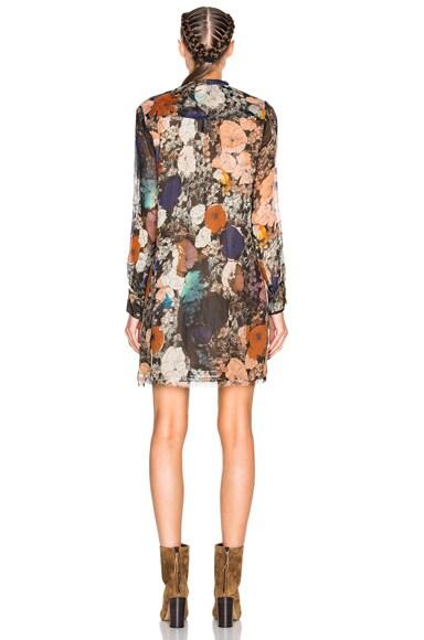 High Waisted Mini Dress