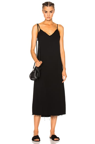 Raquel Allegra V Cami Dress in Black