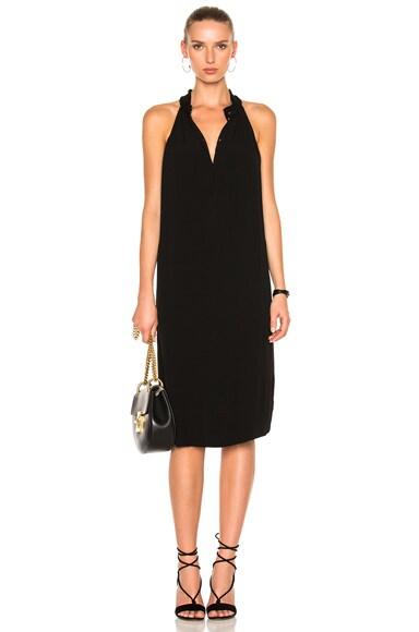 Raquel Allegra Halter Dress in Black