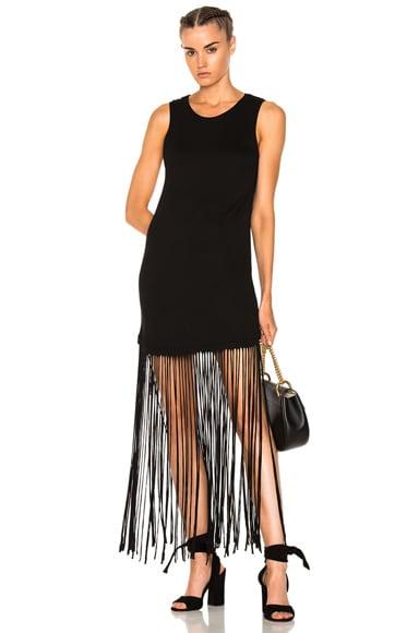 Muscle Tee Fringe Dress