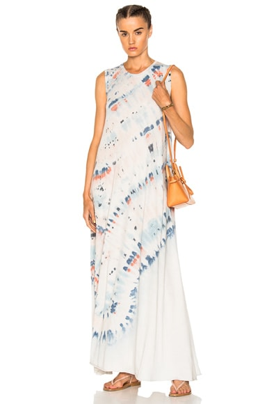 Sleeveless Drama Maxi Dress