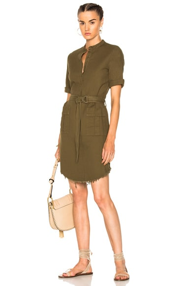 Henley Cargo Dress