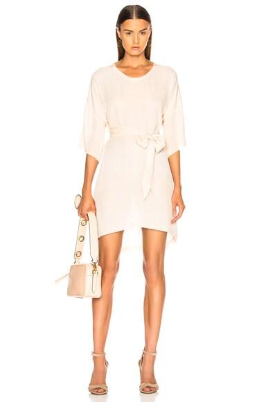Belted Boxy Dress