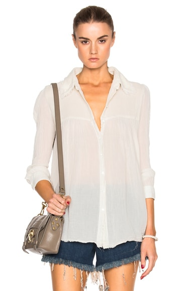 Baby Button Up Top
