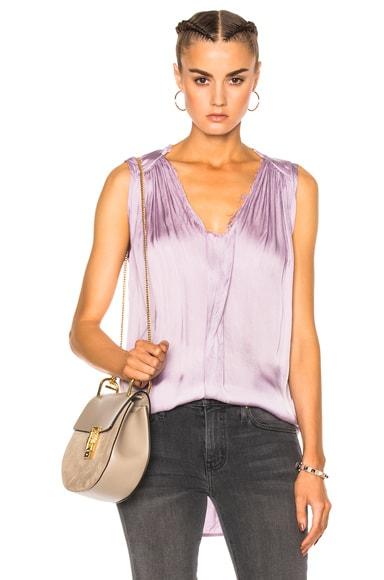 Raquel Allegra Sleeveless Top in Lilac