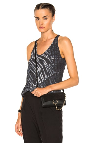 Box Pleat Tank Top