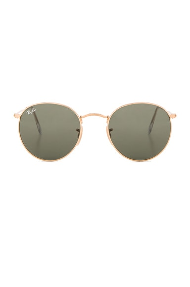 Ray-Ban Round Sunglasses in Green Classic