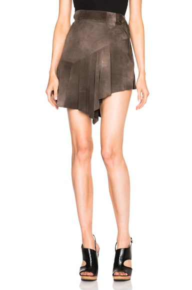 Roberto Cavalli Asymmetric Skirt in Testa Moro