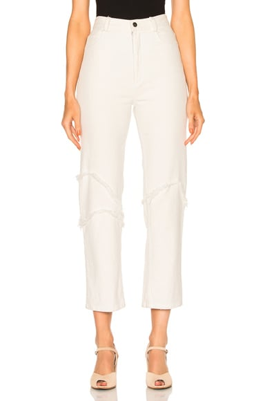 Rachel Comey Ticklers Pants in Dirty White
