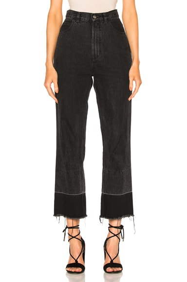 Rachel Comey Slim Legion in Washed Black