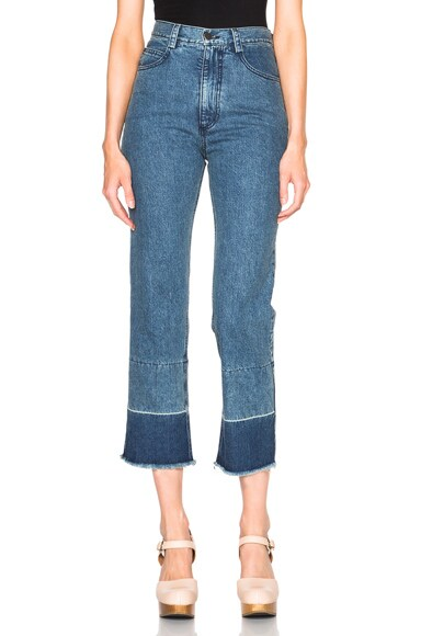 Rachel Comey Slim Legion in Indigo Wash