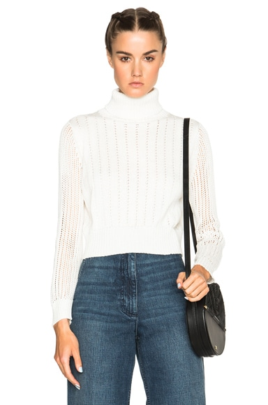 Rachel Comey Turtleneck Sweater in White