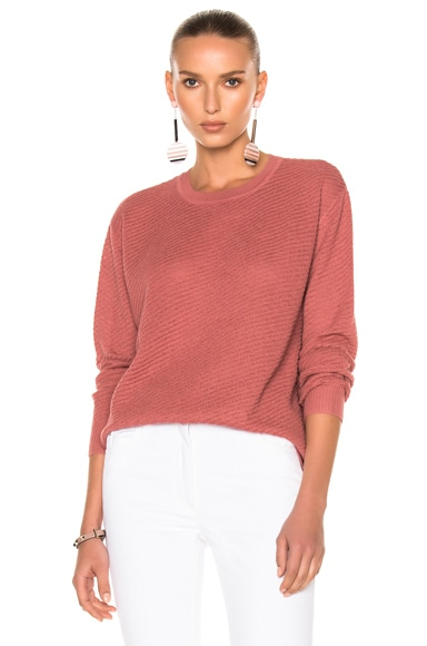 Rachel Comey Stem Sweater in Rose