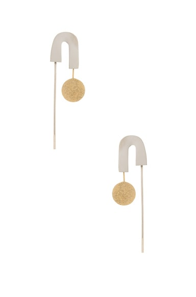 Rachel Comey Alloy Earrings in Mixed Metal