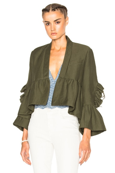 Rachel Comey Frida Jacket in Olive