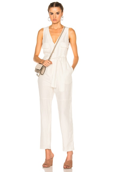 Rachel Comey First Mate Jumpsuit in Ivory