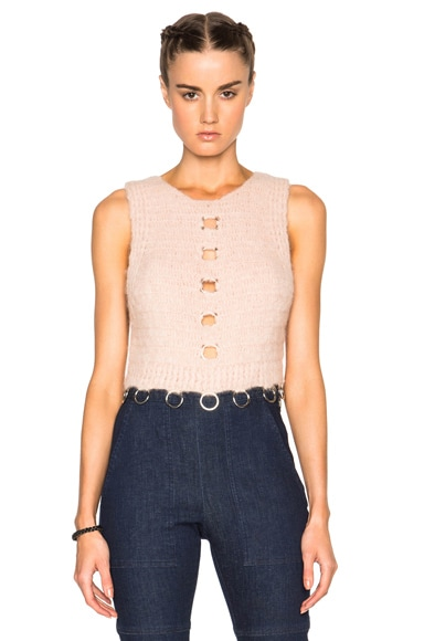 Rachel Comey Orbit Top in Blush
