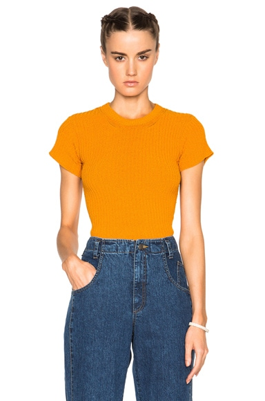 Rachel Comey Burgeon Top in Marigold