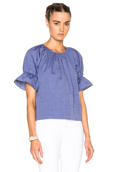 Rachel Comey Vidal Top in Blue