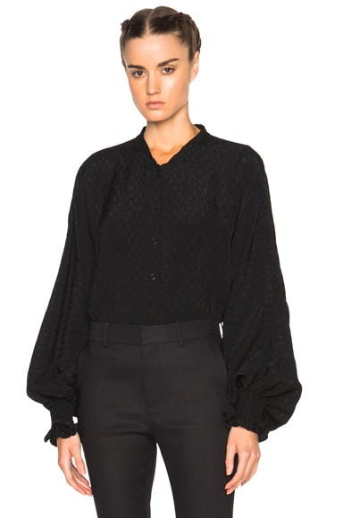 Rachel Comey Mercy Top in Black