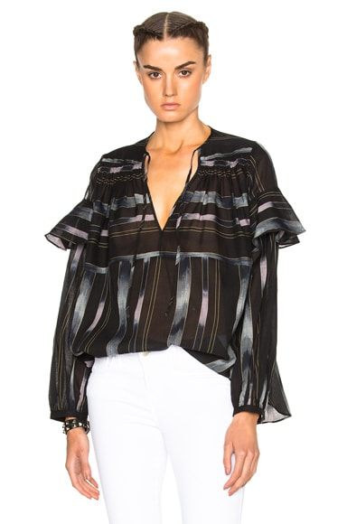 Rachel Comey Willow Top in Black