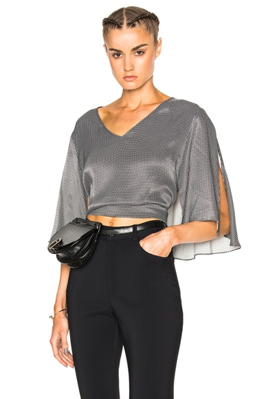 Rachel Comey Plume Top in Black & White