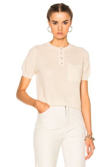 Rachel Comey Canela Top in Ivory