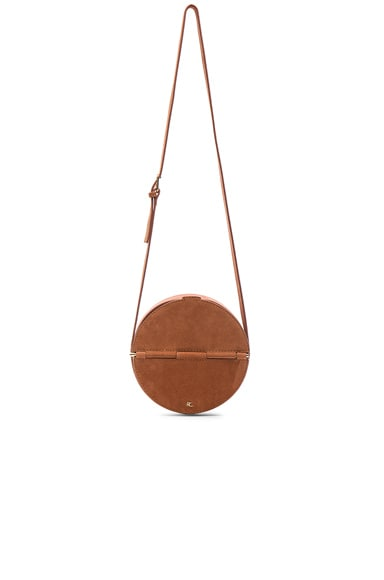 Rachel Comey Suede Baan Bag in Melon