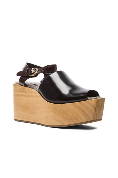 Bowes Leather Wedges