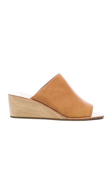 Leather Lyell Wedges