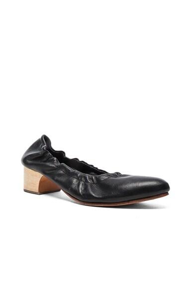 Leather Calder Heels