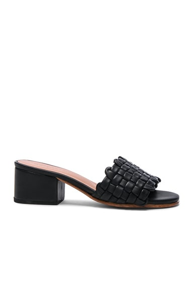 Rachel Comey Leather Pentz in Polished Black